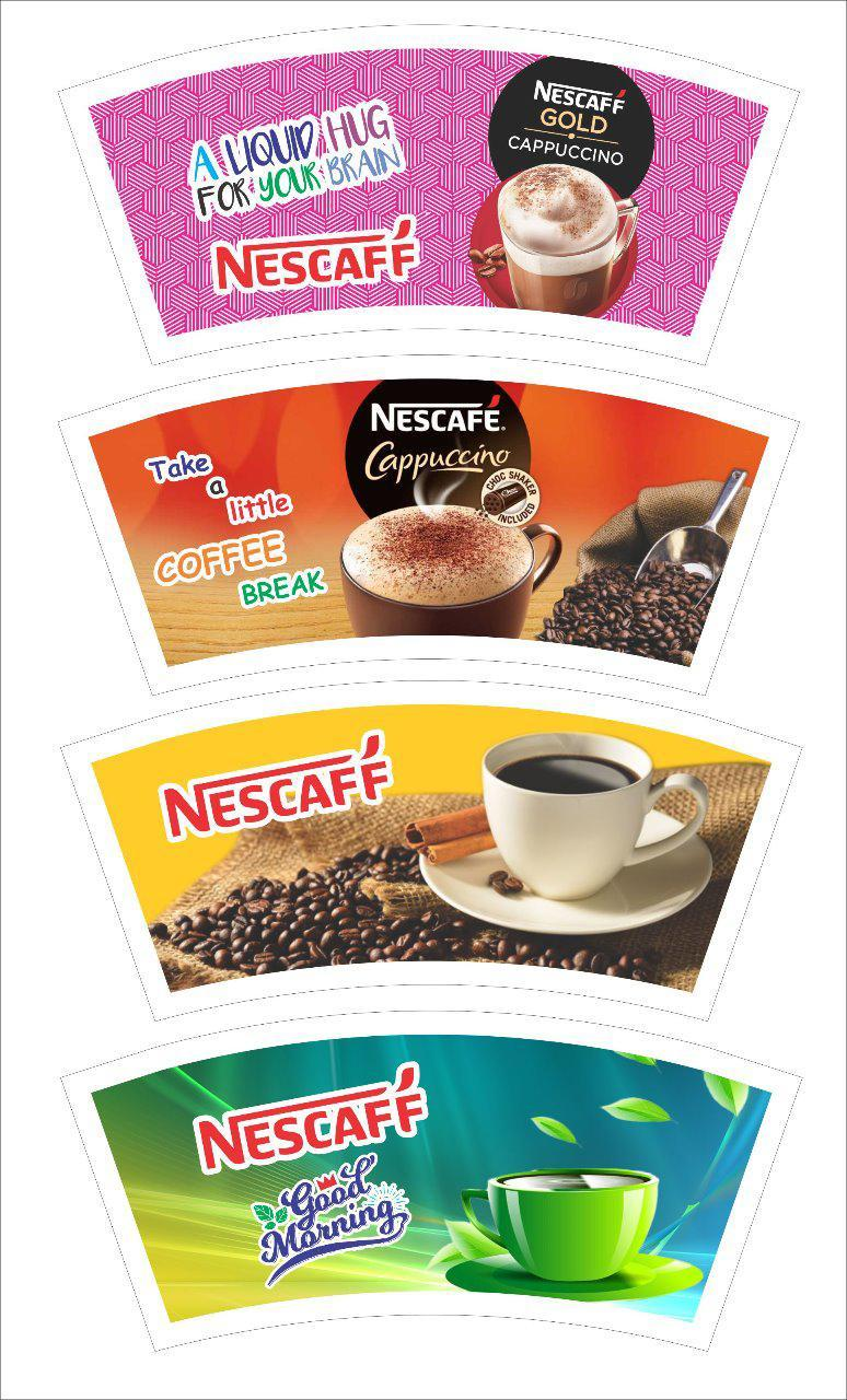 150 ML Paper Cup Blanks (Multicolor)
