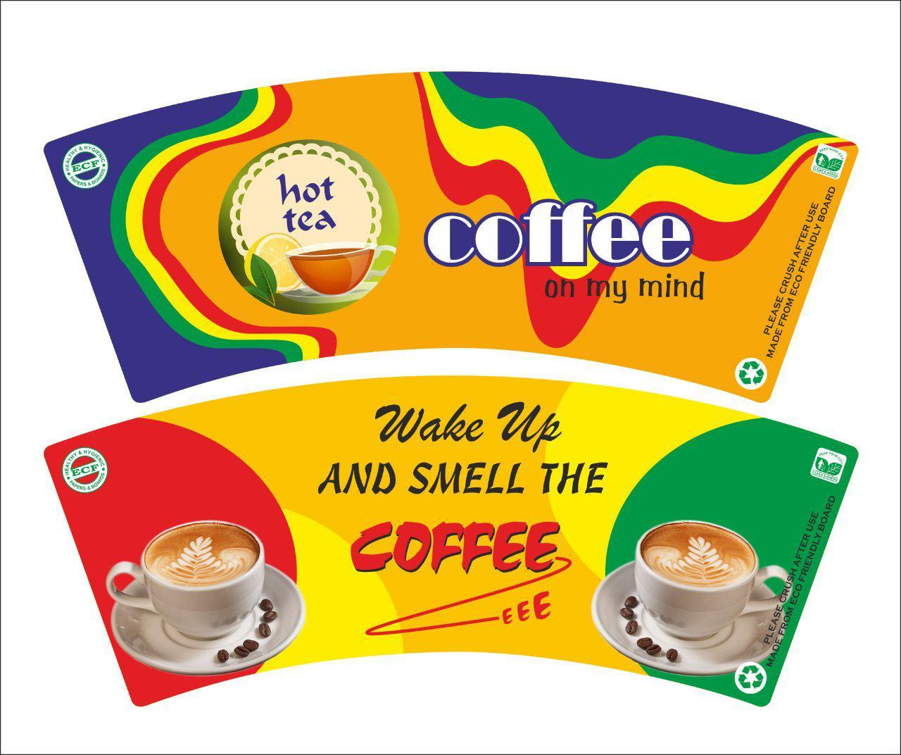 50 ML / 60 ML Paper Cup Blanks (Multicolour)