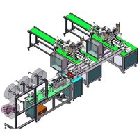 Indian Made 3 Ply Surgical Face Mask Making Machine