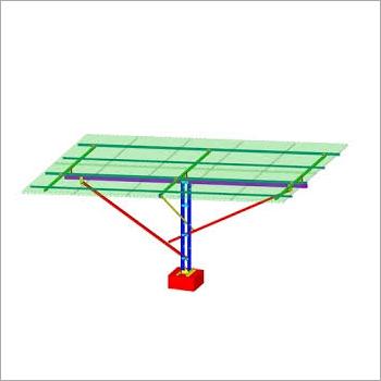 Solar Pumpset Structure