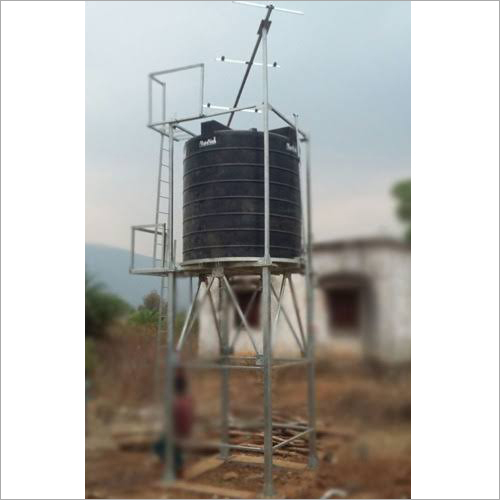 Solar Water Storage Tank Structure