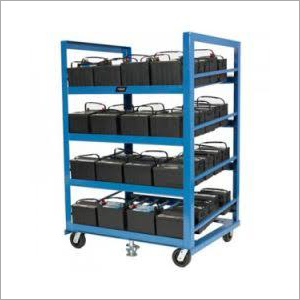Industrial Solar Battery Stand Trolley