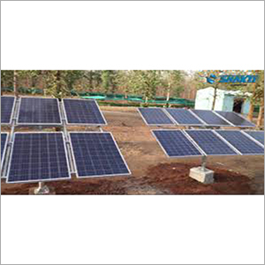 Solar Water Pumpset Structure