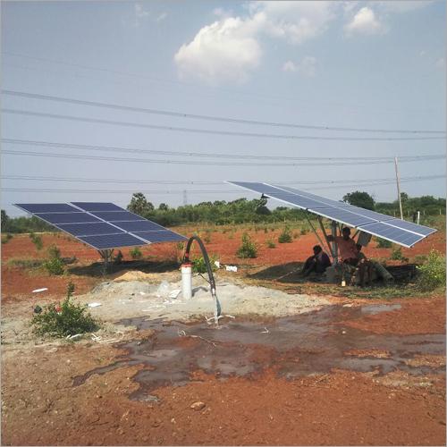 Solar Water Pumpset Structure