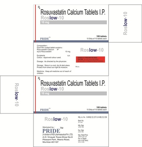Roslow 10mg (Rosuvastatin)
