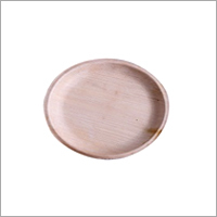 8 Round Shallow Areca Leaf Plate