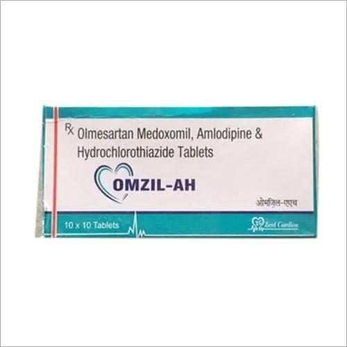 Olmesartan, Medoxomil,Amlodipine and Hydrochlorothiazine Tablets 40mg