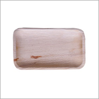 Areca Leaf Rectangular Tray