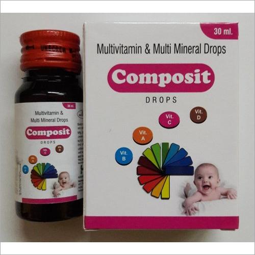 Multivitamin And Multi Mineral Drops
