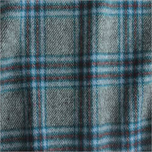 Boiled Wool Check Fabric