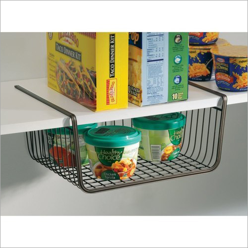 Under Shelf Basket Wire Kitchen Rack