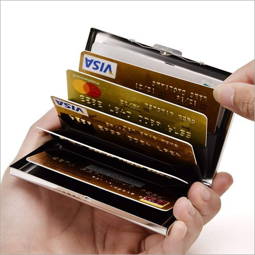 Stainless Steel Card Holder Wallet