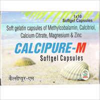 Soft Gelatin Capsules of Methylcobalamin Calcitriol Calcium Citrate Magnesium and Zinc