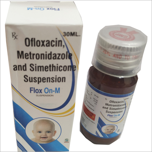Ofloxacin Metronidazole and Simethicone Suspension