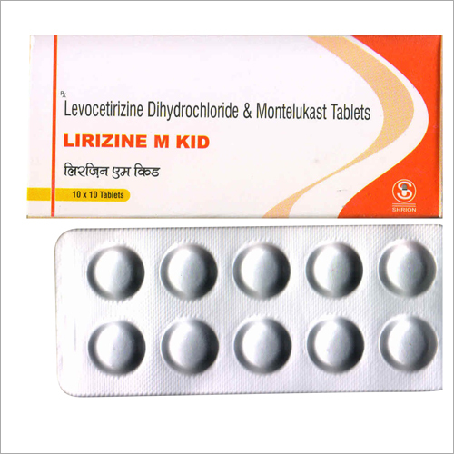 Levocetirizine Dihtdrochloride and Montelukast Tablets