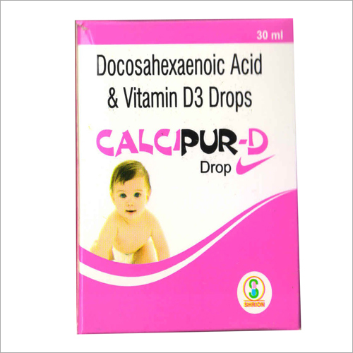 Docosahexaenoic Acid And Vitamin D3 Drops