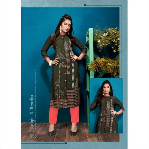 Ladies Ethnic Designer Kurti