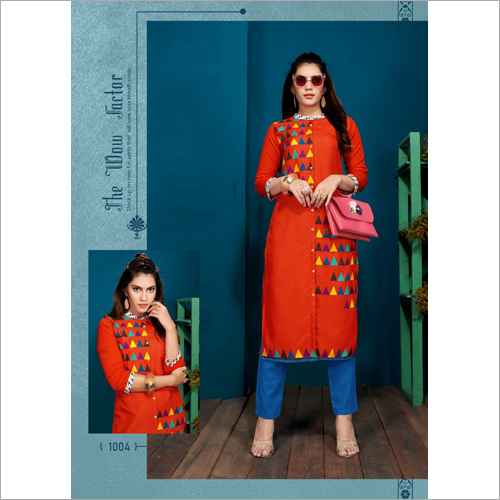 Ladies Modern Straight Kurti