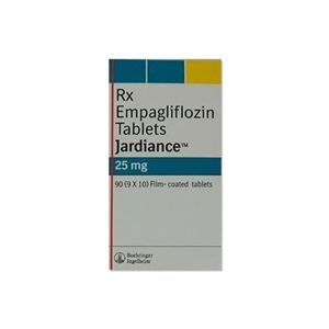JARDIANCE 25mg tablets