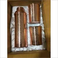 Copper Bottle Set