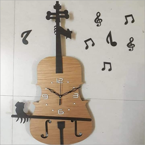 Msg Wood Wall Clock