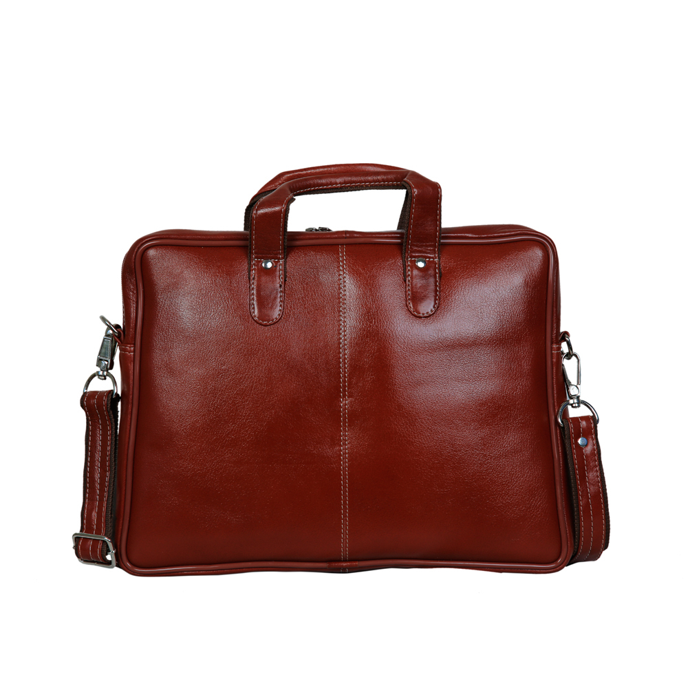 Mens Leather 14.5 Inch Laptop Bag