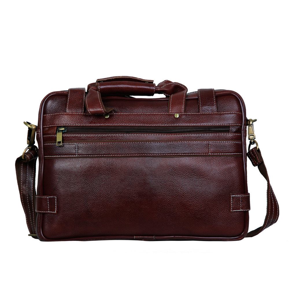 MYBAE Executive Leather Laptop Bag