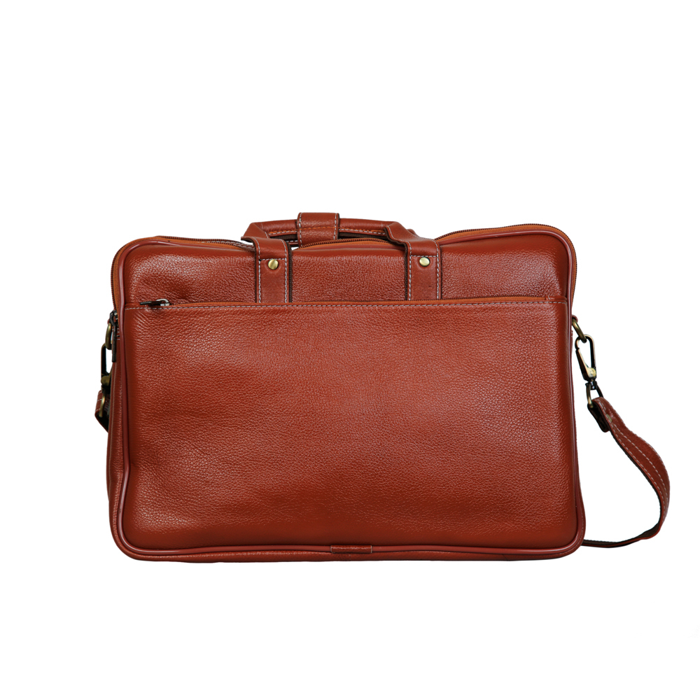 MYBAE Office Leather Laptop Bag