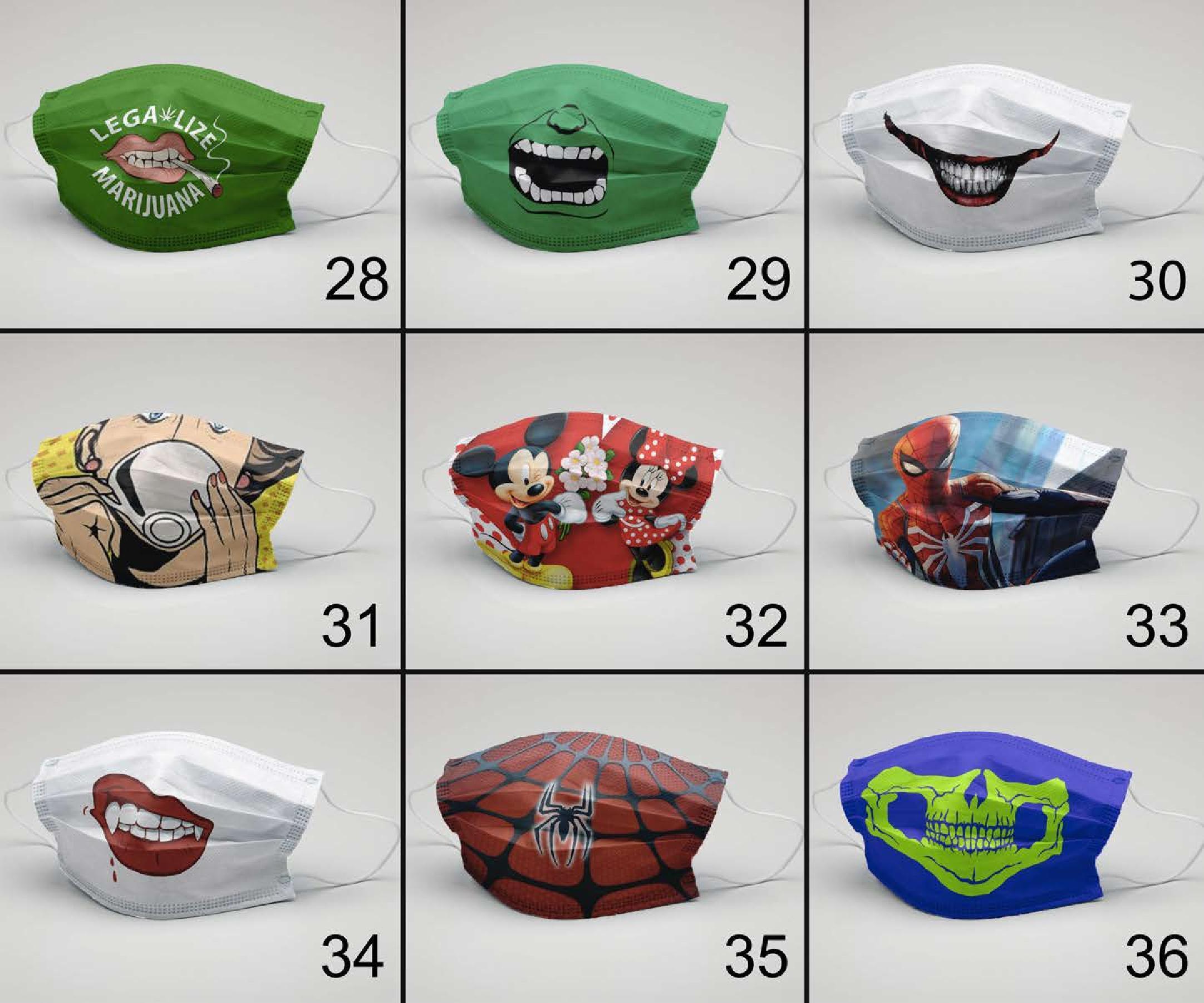 Mukhota Fashionable Kids Mask