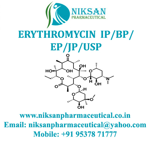 Erythromycin .