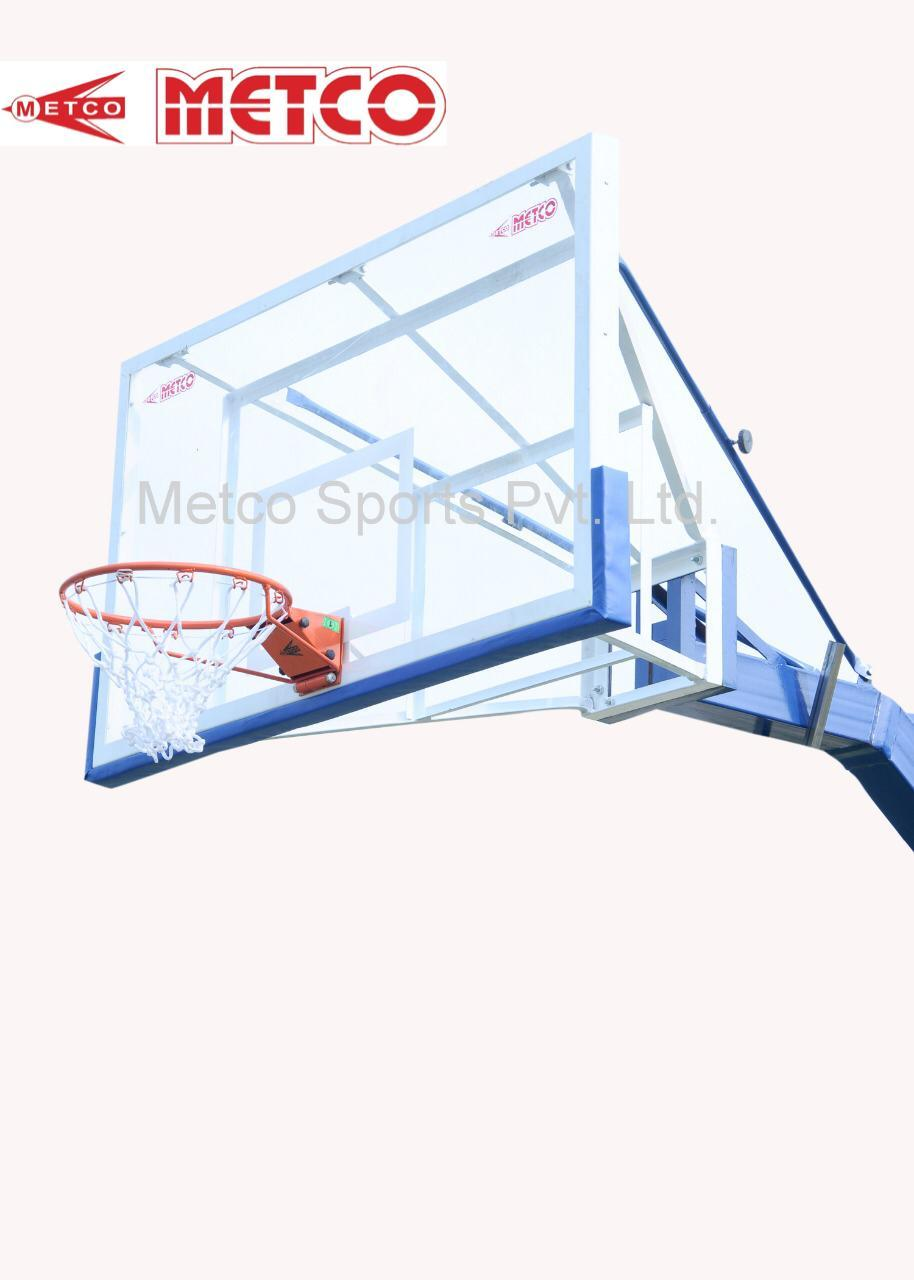Basketball Pole Fixed 6 Inch Square Pipe