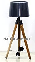 Designer's Natural Wooden Tripod Lamp Stand For Living Room, Hotel, Restorant, Bedroom, Coner Lamp