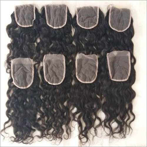 Natural High Quality Curly HD transparent lace closures