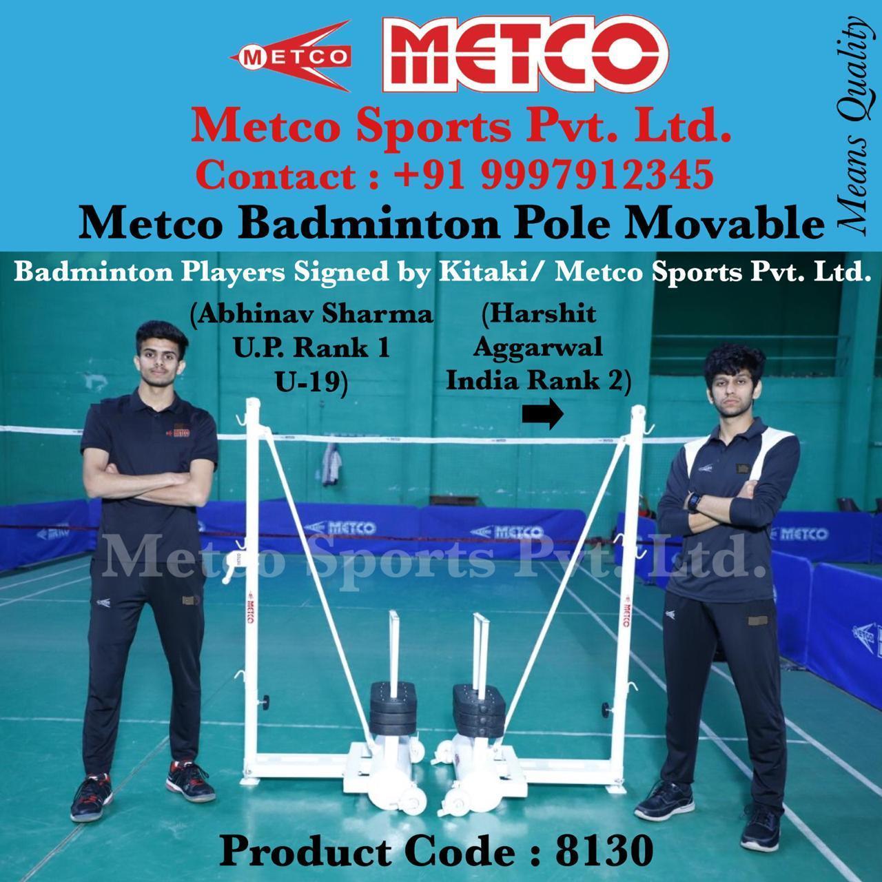 Badminton Pole Movable