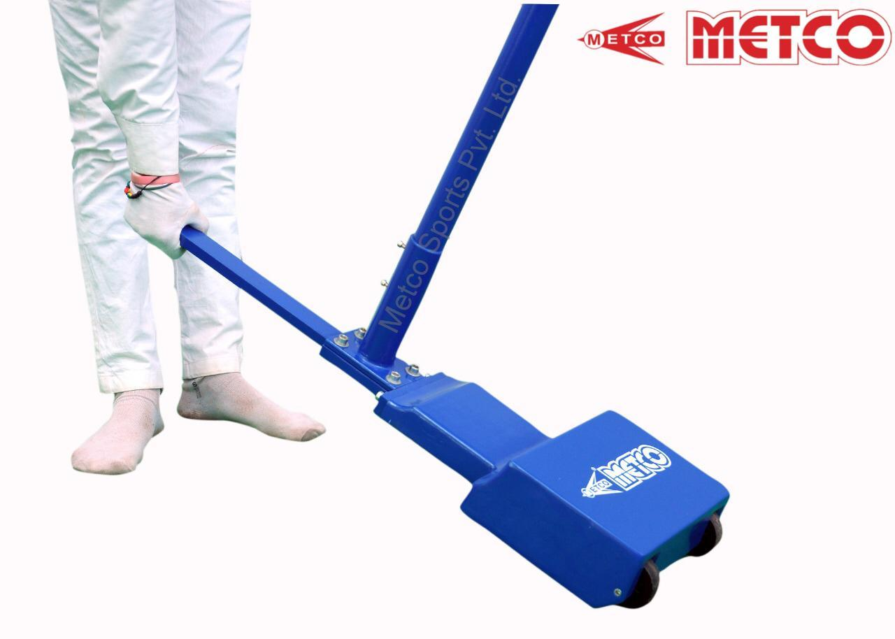Badminton Pole Movable Blue