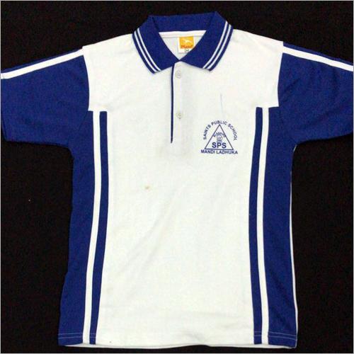 School Polo Neck T-Shirt