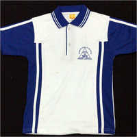 School Polo Neck T-Shirt