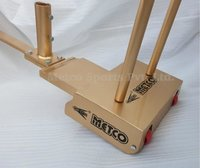 Metco Badminton Pole Movable Gold Color