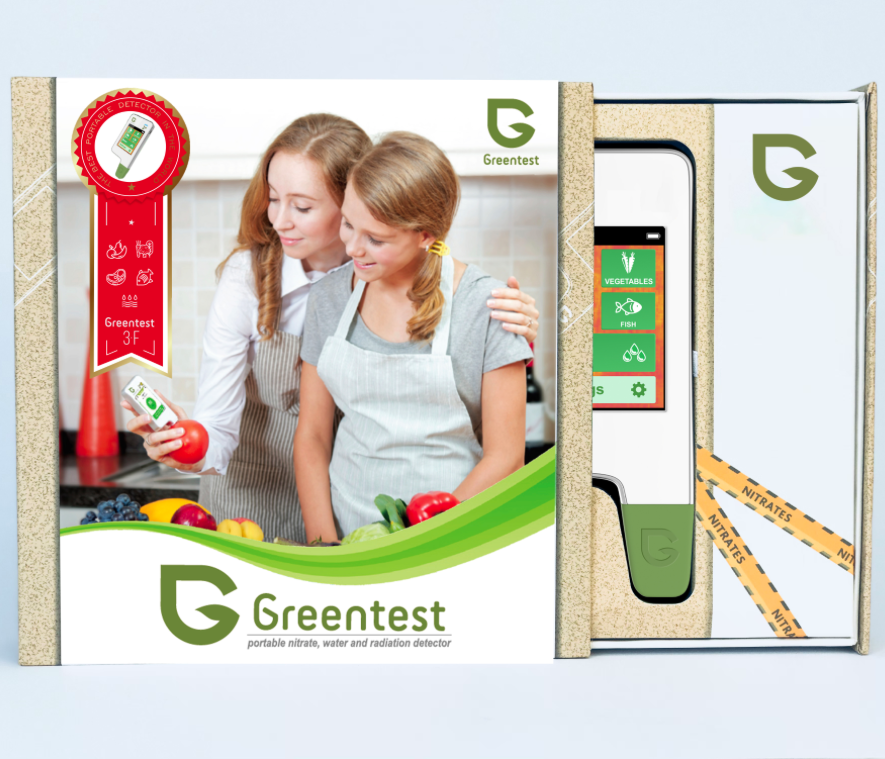 Greentest 3F - Nitrate-tester and TDS Water Meter