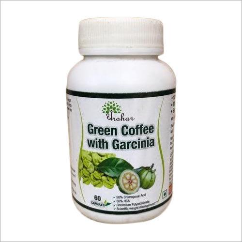 Green Coffee Capsule with Garcinia Herb