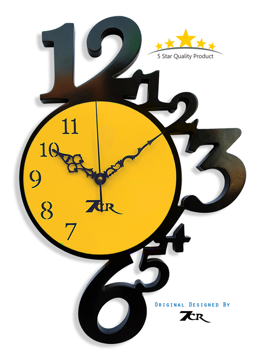 12 to 6 wall clock