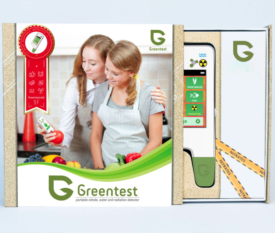 Greentest ECO 5F - Nitrate-Tester, TDS Water Meter, Radiation Detector