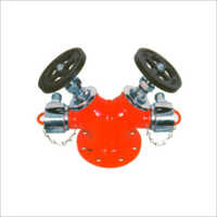 SS Double Outlet Hydrant Valve