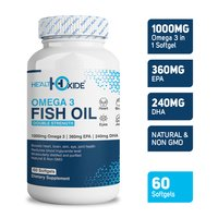Omega 3 Fish Oil Softgels