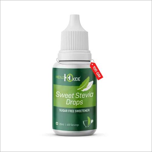 Sweet Stevia Drops – Natural & Zero Calorie Sweetener, Sugar Substitute, Sugar Free