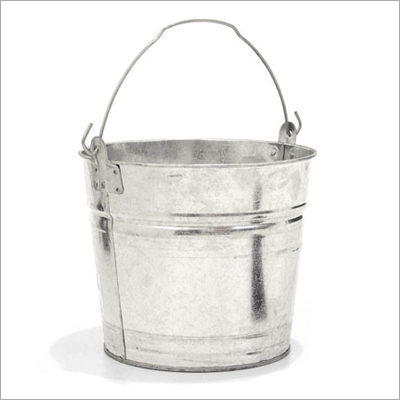 Galvanized Round Buckets
