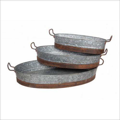Steel Tub Planter
