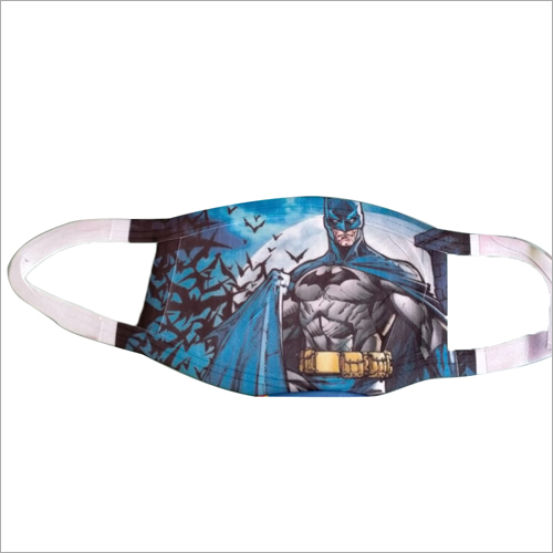Batman Print Fabric Face Mask