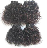 Deep Curly Virgin Weft Human Hair Bundles