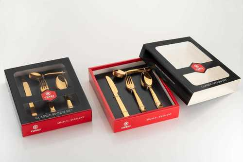 Gold Plated Spoon Set